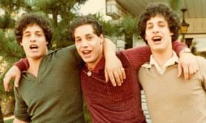 Eddy Galland, David Kellman and Robert Shafran of Three Identical Strangers.