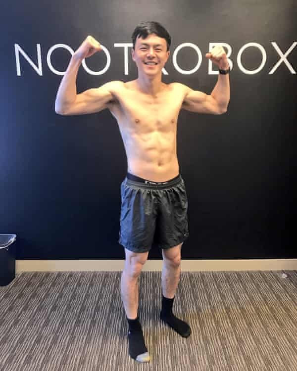 Geoff Woo after seven days of fasting