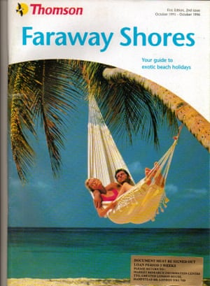 1996 Thomson faraway shores brochure