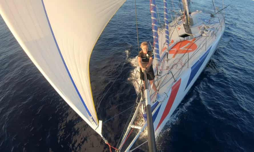 Pip Hare racing on her 60ft boat Medallia: 'You need to understand the risks.'