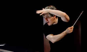 Antonio Pappano in rehearsals for La Boheme at the Royal Opera House, London.