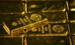 The gold price has hit a 15-month high.