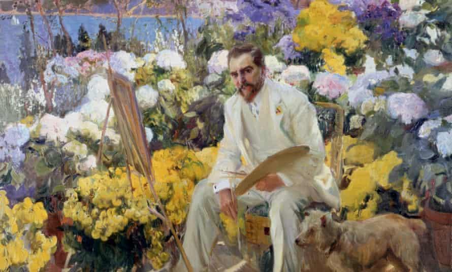 Joaquín Sorolla's Louis Comfort Tiffany (1911)