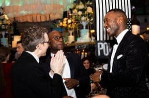 Barry Jenkins and Mahershala Ali
