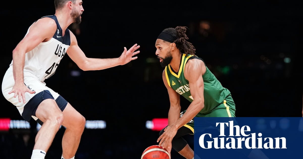Basketball fans furious costly seating at USA v Boomers match offered poor views