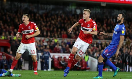 Middlesbrough sweep aside Bolton to keep up pressure on Leeds the leaders