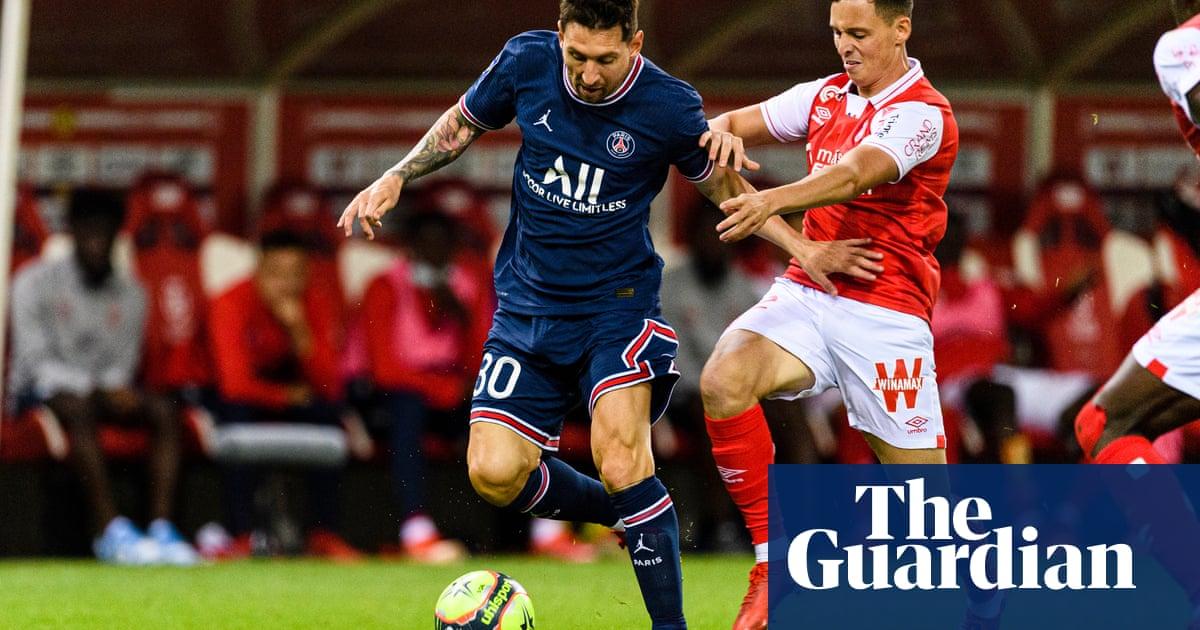 Lionel Messi makes PSG debut at Reims but Kylian Mbappé steals show
