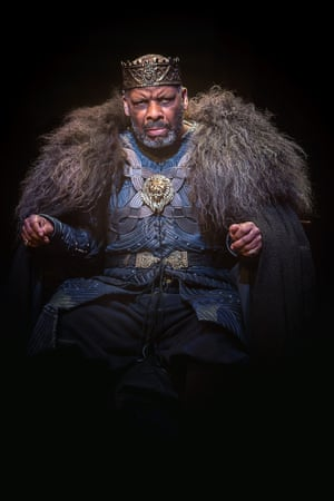 Don Warrington as King Lear in a 2016 co-production directed by Talawa's artistic director, Michael Buffong,