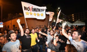 Five Star Movement supporters