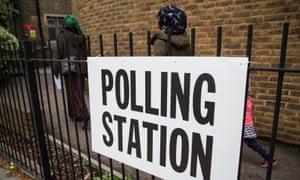 EU referendum voters Kentish Town north London