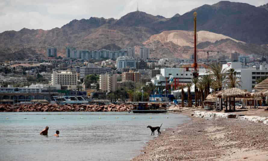 The southern Israeli resort city of Eilat