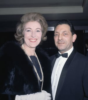 Vera Lynn, with her husband Harry Lewis in London in 1964. She met the musician in 1939 and they married two years later. Harry died in 1998
