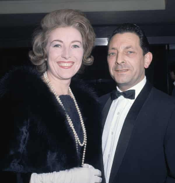 Vera Lynn with her husband, Harry Lewis, in London in 1964.
