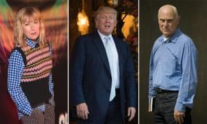 Cindy Sherman, Donald Trump and Richard Serra