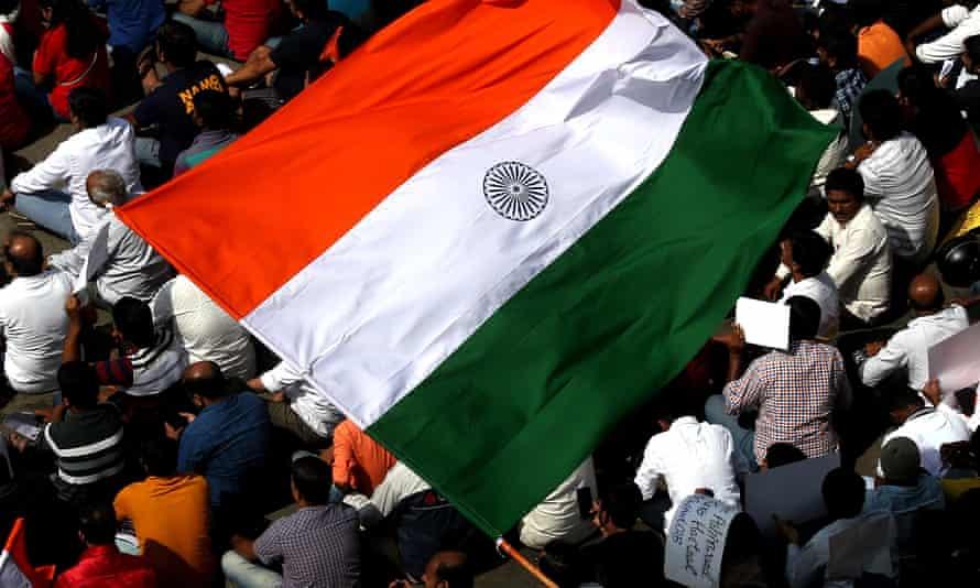 Supporters and members of Vishva Hindu Parishad (VHP), Rashtriya Swayamsevak Sangh (RSS) and Bharatiya Janata party.
