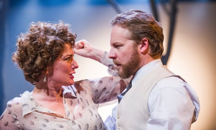 Anna Chancellor and Samuel West in The Seagull at Chichester: 'making Chekhov appear newly wild'.