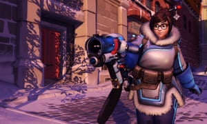 Mei, a character from Blizzard's game Overwatch, has been adopted as a mascot by the protest group Gamers for Freedom.