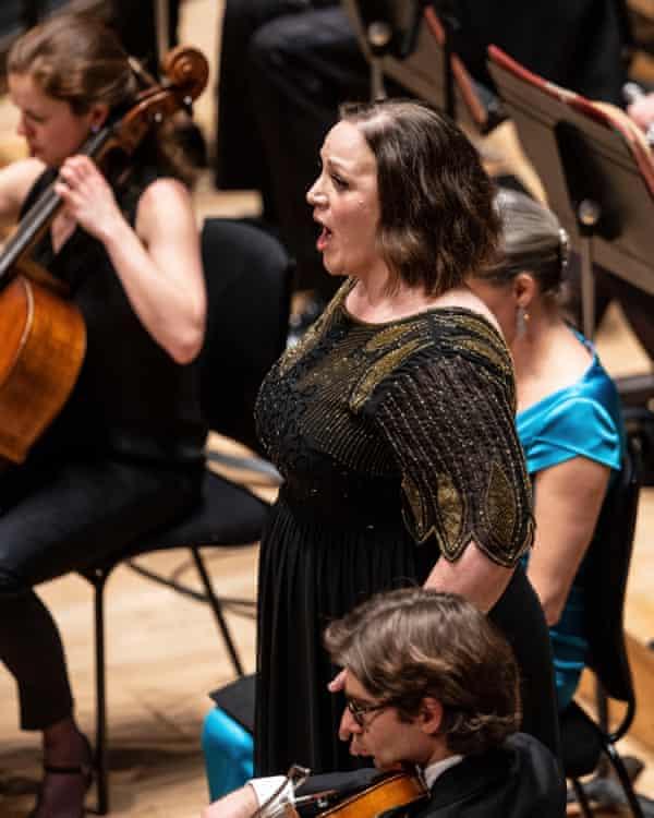 Dearth of diary dates … mezzo soprano Jennifer Johnston.
