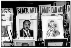 Obra à venda na Times Square, 1980.
