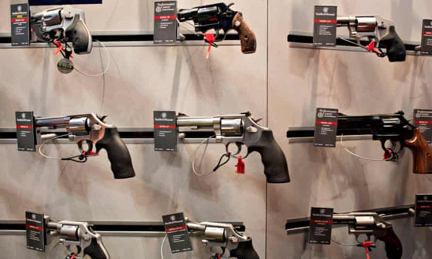Smith & Wesson sales weapons guns