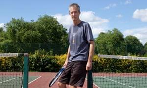 Geoff Dyer, Queens Park tennis courts, London