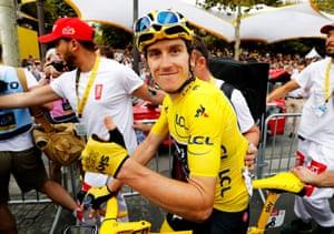Geraint Thomas, winner of the Tour de France 2018.