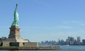 Freedom is not a settled thing … the Statue of Liberty. Photograph: EPA/Justin Lane