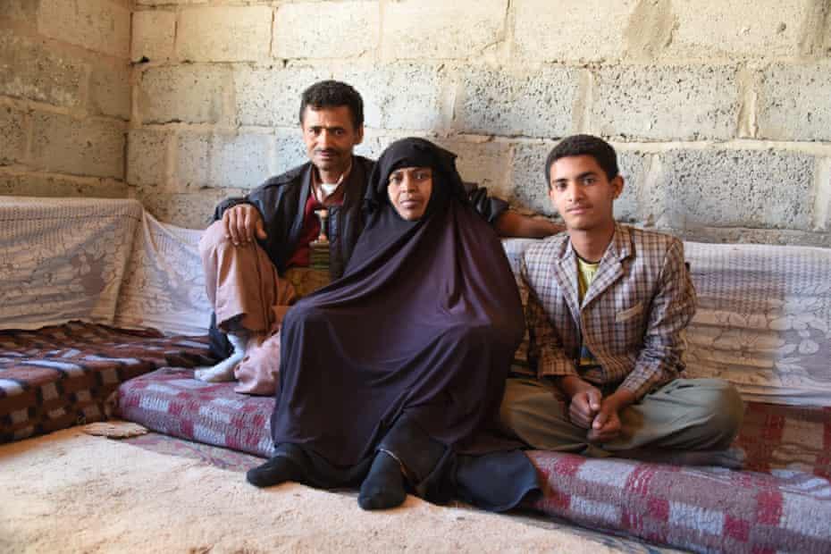 Family in Yemen