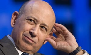Lloyd Blankfein, CEO of Goldman Sachs.