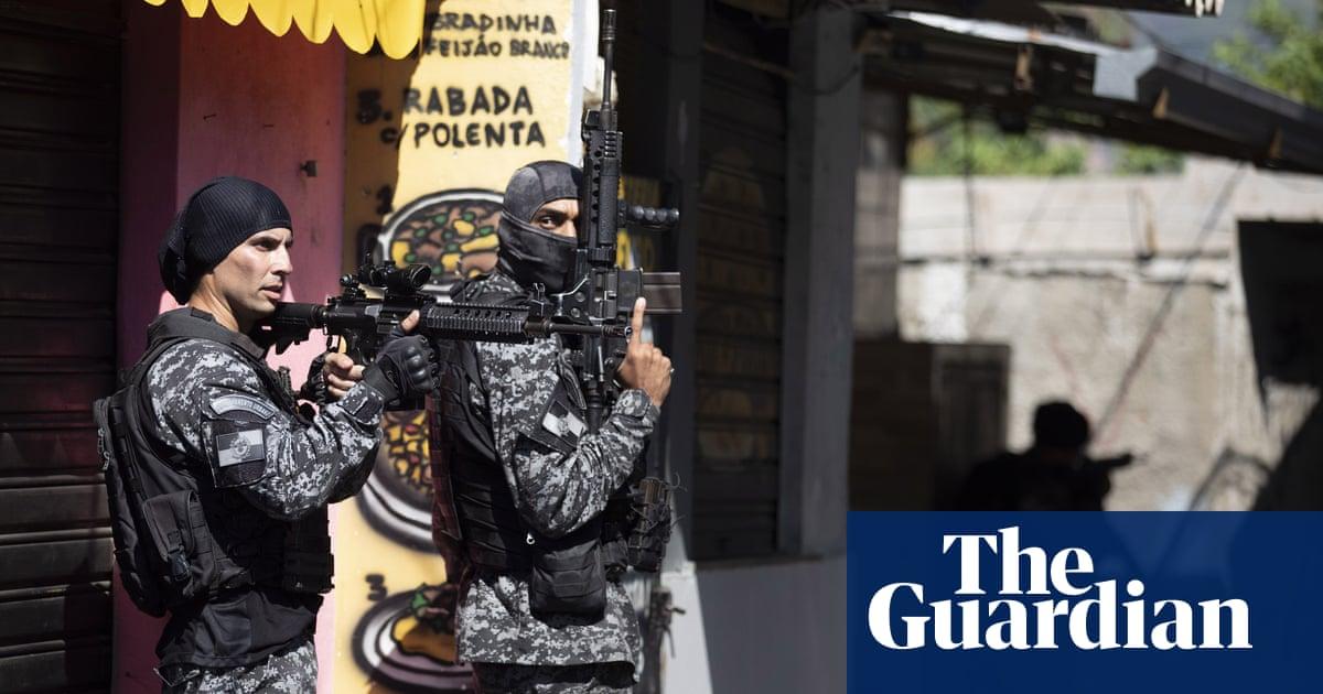 Rio de Janeiro: at least 25 killed in city's deadliest police raid on favela