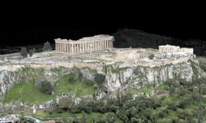 A scan of the Acropolis.