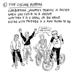 Jakarta cycling tips