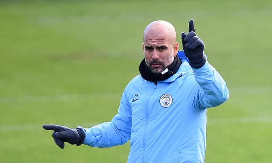 Pep Guardiola's Manchester City side need a draw in Lyon to confirm their place in the Champions League knockout stages.