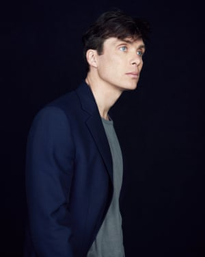 Cillian Murphy, actor, in Haider Ackermann T-shirt and Maison Margiela coat