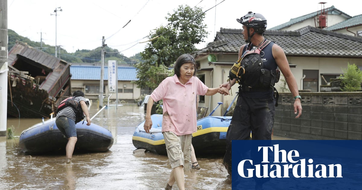 Japan floods: nursing home residents feared dead - the guardian