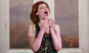 Patricia Petibon in the title role of Handel's Alcina in Aix-en-Provence (2015)