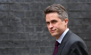 Gavin Williamson, who was sacked tonight as defence secretary.