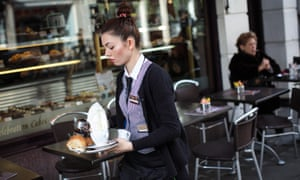 Britain's services sector enjoyed its fastest growth for four months in April.