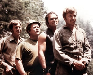 Ronny Cox, Ned Beatty, Burt Reynolds and Jon Voight in Deliverance