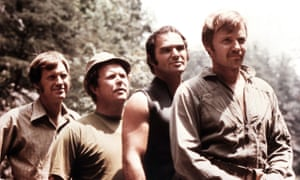 Ronny Cox, Ned Beatty, Burt Reynolds and Jon Voight in Deliverance.