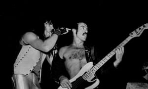 Saxon in 1982.