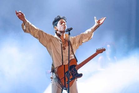 Prince at Hop Farm festival in 2011.