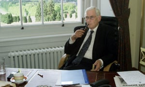 Mallon in his office as deputy first minister at Stormont, 2000.