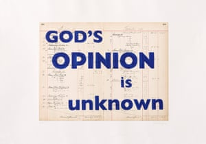 William Kentridge, God's Opinion Is Unknown, 2019