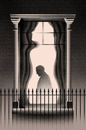 'He saw his tall, spare figure pass twice in a dark silhouette against the blind.' Max Löffler (Germany) is a freelance illustrator and graphic designer.