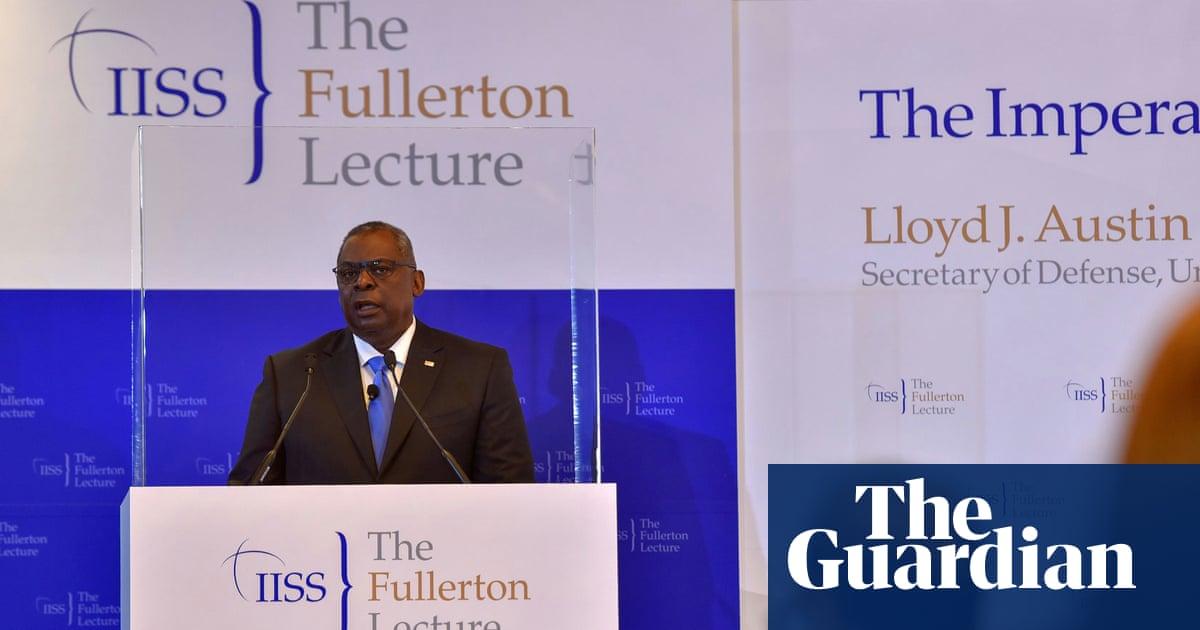 US won't flinch if interests threatened, defence secretary tells China