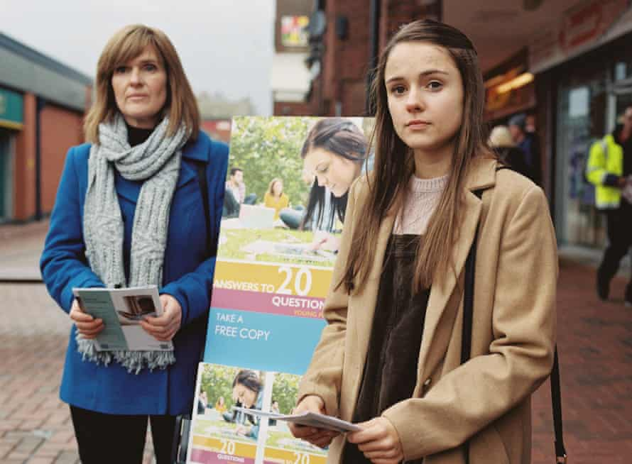 Siobhan Finneran and Molly Wright in Apostasy