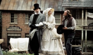 Donald Sutherland and Nicole Kidman in Cold Mountain.
