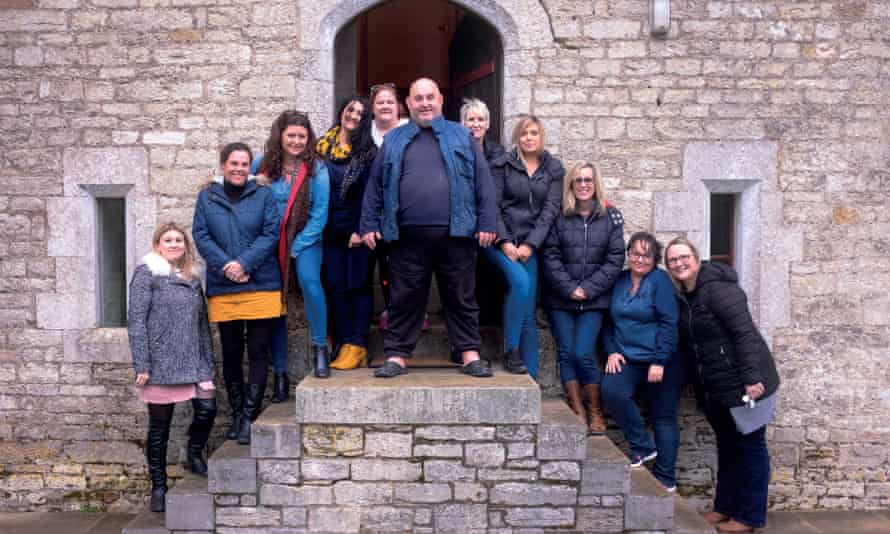 The Southside Family Project visits Woodsford Castle, Dorchester this year.