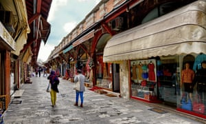 With fewer tourists visiting Istanbul, traders at the Arasta Bazaar are suffering a drop in sales.